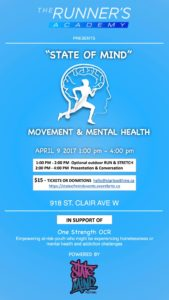 Movement & Mental Health @ The Runner's Academy