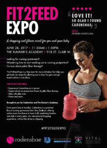 Fit2Feed Expo @ The Runner's Academy