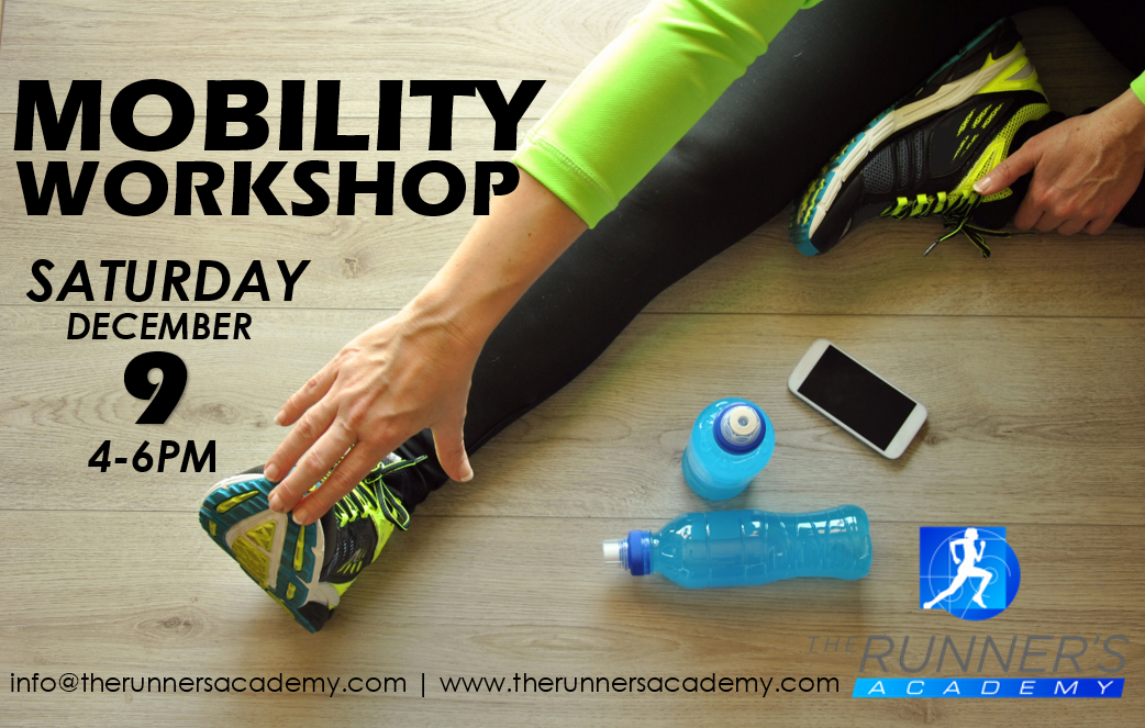 Mobility Workshop with Jordan Collison @ The Runner's Academy
