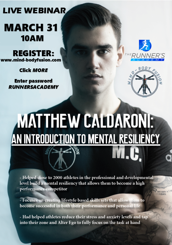Intro to Mental Resiliency: A Mind-Body Fusion Webinar