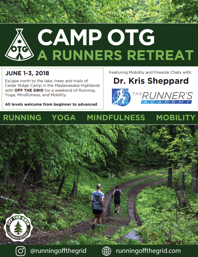 Camp OTG: A Runner's Retreat @ Cedar Ridge Camp