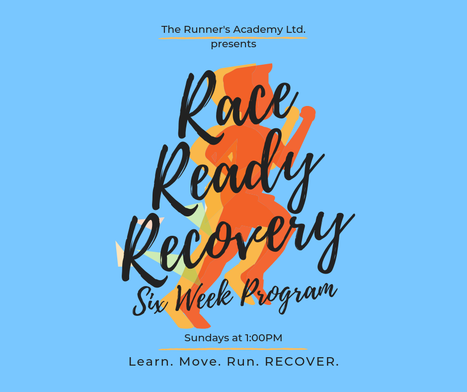 Race Ready Recovery @ The Runner's Academy Ltd.